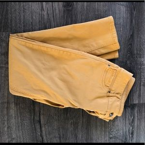 Maurices Demiflex Jeggings in Mustard. SizeM/R